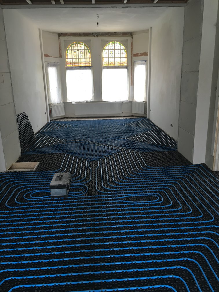 Nawara Bouwservice floor heating instalation